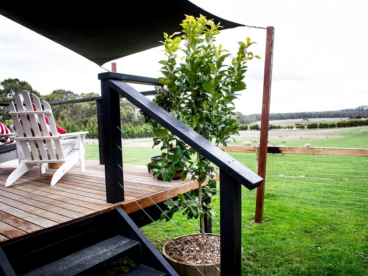 Edgars Mission Tiny House by Hangan Decking View Victoria Australia_